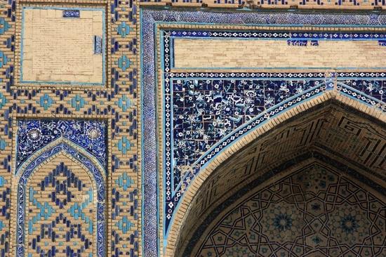 Khodzha Akhmed Yasavi mausoleum, Turkestan, Kazakhstan view 4