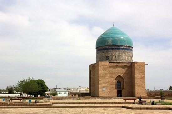 Khodzha Akhmed Yasavi mausoleum, Turkestan, Kazakhstan view 6