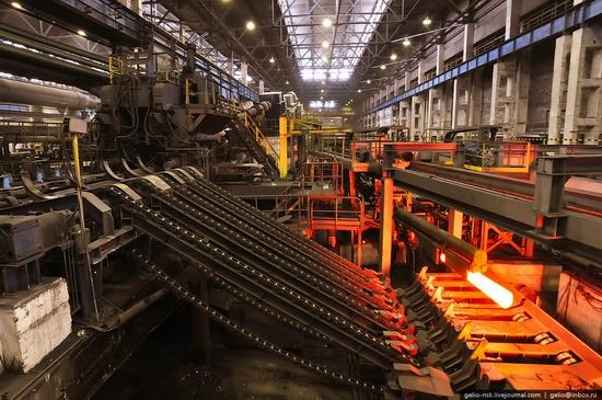 Pavlodar, Kazakhstan pipe and steel plants view 2