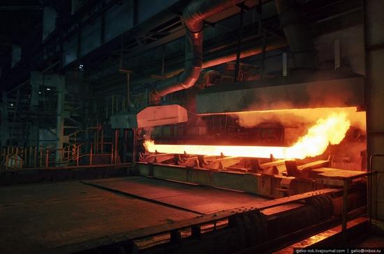 Pavlodar, Kazakhstan pipe and steel plants view 3