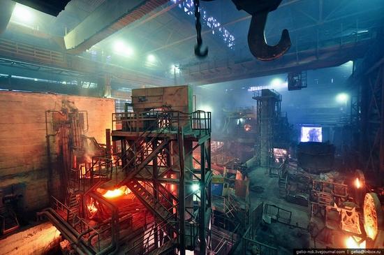 Pavlodar, Kazakhstan pipe and steel plants view 5