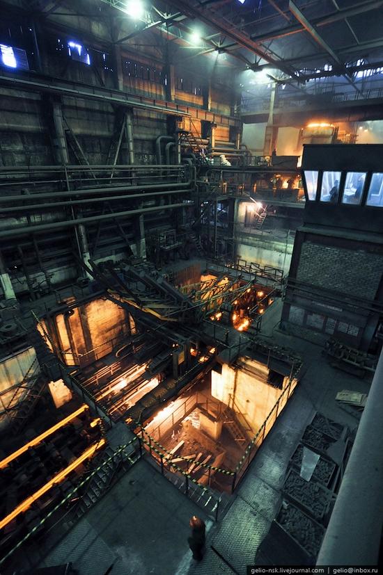 Pavlodar, Kazakhstan pipe and steel plants view 6