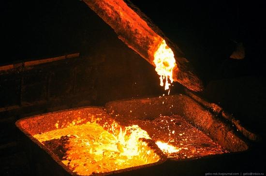 Pavlodar, Kazakhstan pipe and steel plants view 9
