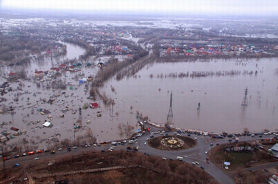 West Kazakhstan oblast flooding 1