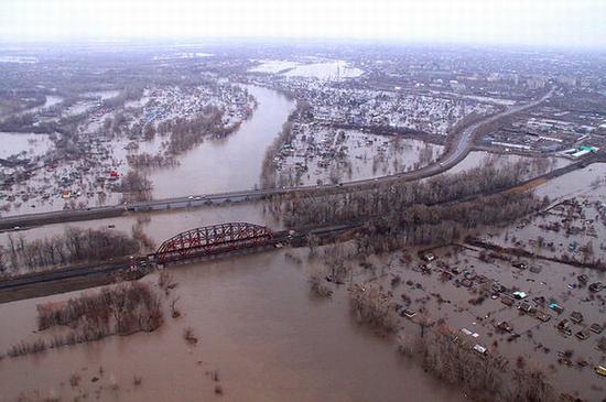 West Kazakhstan oblast flooding 2