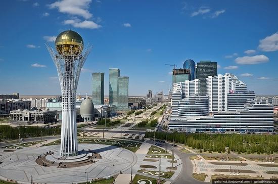 Astana, Kazakhstan architecture view 13