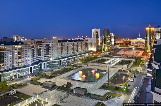 Astana, Kazakhstan architecture view 2