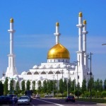 Beautiful mosques of Kazakhstan