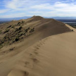 Famous Singing Dunes of Kazakhstan