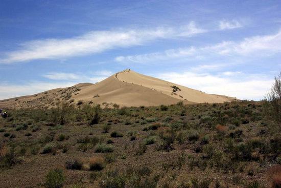 Singing Dunes, Almaty oblast, Kazakhstan view 3