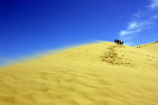Singing Dunes, Almaty oblast, Kazakhstan view 4