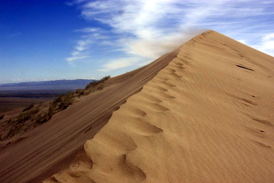 Singing Dunes, Almaty oblast, Kazakhstan view 5