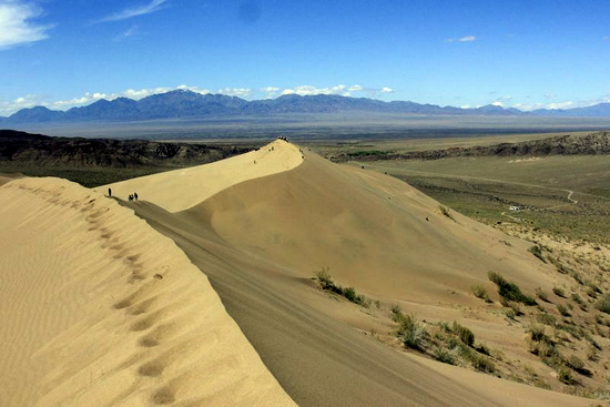 Singing Dunes, Almaty oblast, Kazakhstan view 6