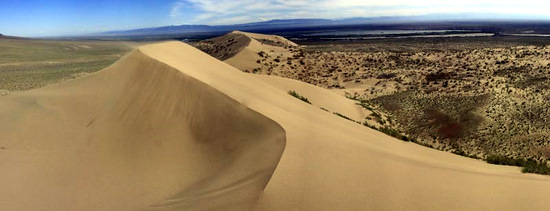 Singing Dunes, Almaty oblast, Kazakhstan view 8