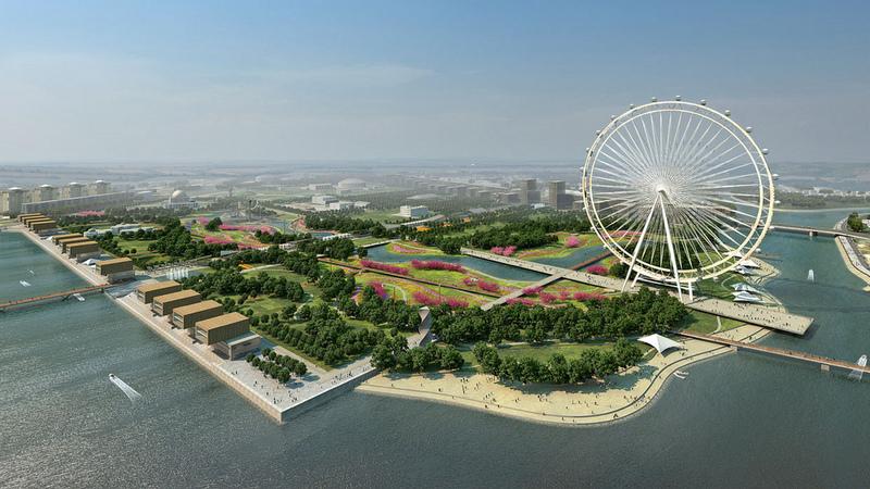Central Park of Astana, Kazakhstan reconstruction project 2
