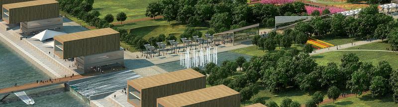 Central Park of Astana, Kazakhstan reconstruction project 3