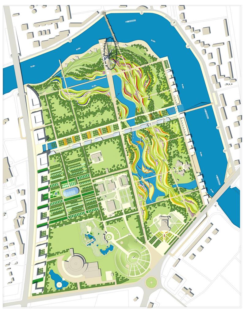 Central Park of Astana, Kazakhstan reconstruction project 5