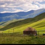 The variety of landscapes of Almaty oblast