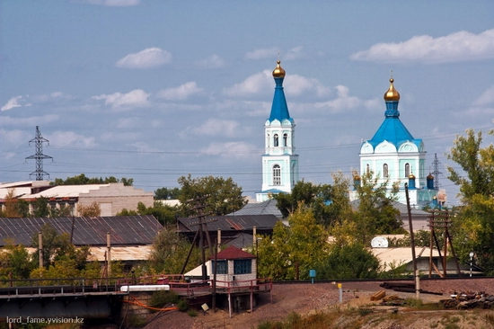 Semey city, Kazakhstan Orthodox church