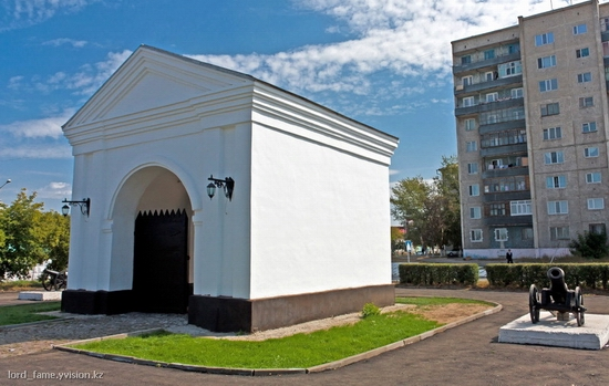 Semey city, Kazakhstan Yamyshevskiye gate