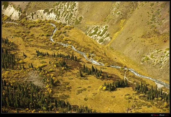 Dzungarian Alatau mountain range, Kazakhstan view 1