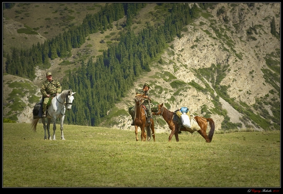 Dzungarian Alatau mountain range, Kazakhstan view 10