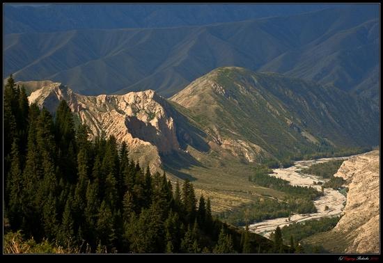 Dzungarian Alatau mountain range, Kazakhstan view 11