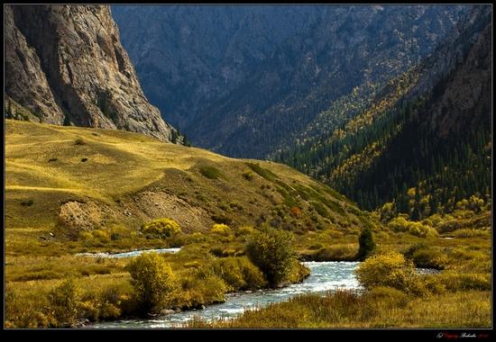 Dzungarian Alatau mountain range, Kazakhstan view 8