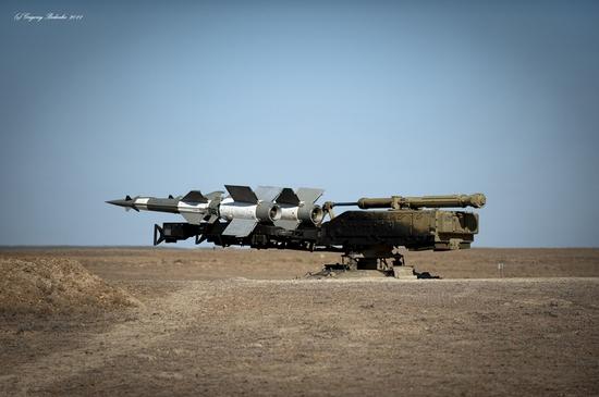 Missile firing, Sary-Shagan testing ground, Kazakhstan view 11