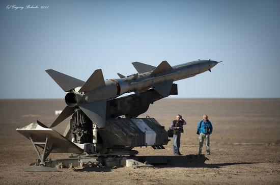 Missile firing, Sary-Shagan testing ground, Kazakhstan view 12