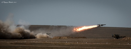 Missile firing, Sary-Shagan testing ground, Kazakhstan view 16