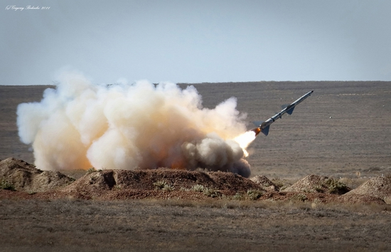Missile firing, Sary-Shagan testing ground, Kazakhstan view 18