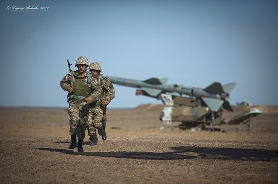 Missile firing, Sary-Shagan testing ground, Kazakhstan view 19