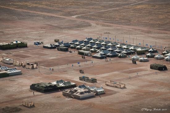 Missile firing, Sary-Shagan testing ground, Kazakhstan view 5