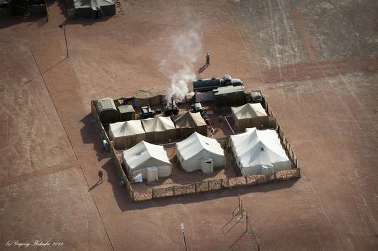 Missile firing, Sary-Shagan testing ground, Kazakhstan view 6