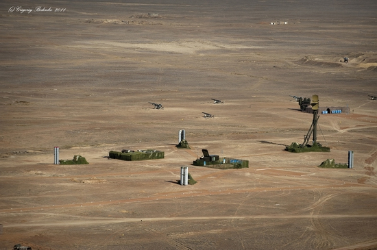 Missile firing, Sary-Shagan testing ground, Kazakhstan view 7