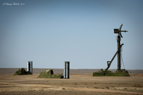 Missile firing, Sary-Shagan testing ground, Kazakhstan view 9