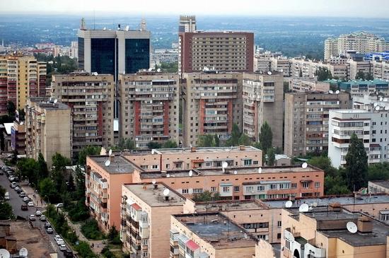 Almaty, Kazakhstan bird's eye view 10