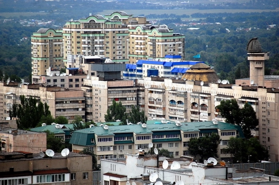 Almaty, Kazakhstan bird's eye view 11