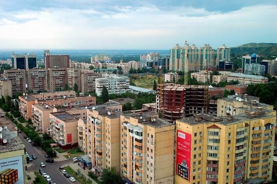 Almaty, Kazakhstan bird's eye view 5