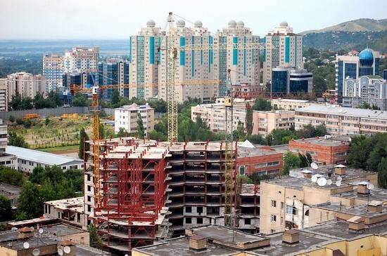 Almaty, Kazakhstan bird's eye view 6