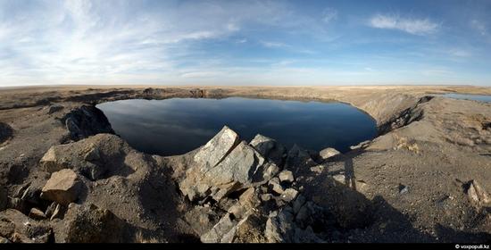Semipalatinsk nuclear test site, Kazakhstan view 1