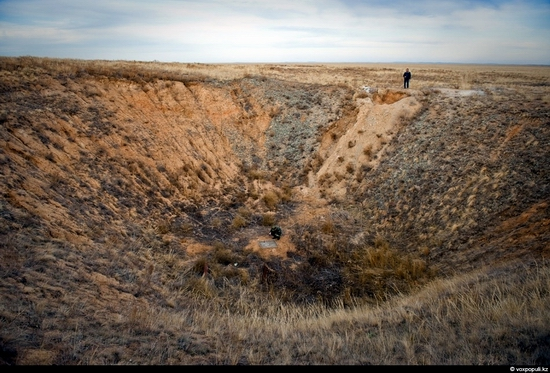 Semipalatinsk nuclear test site, Kazakhstan view 10