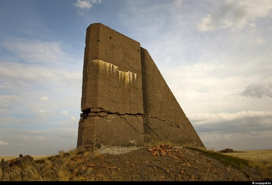 Semipalatinsk nuclear test site, Kazakhstan view 12