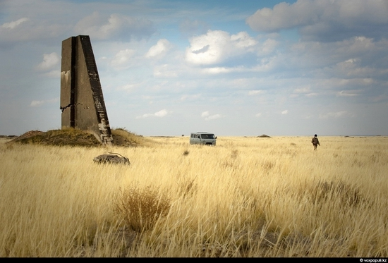 Semipalatinsk nuclear test site, Kazakhstan view 13