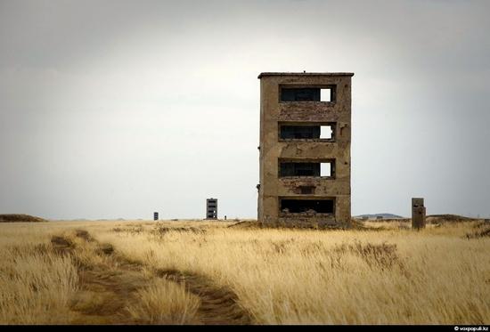 Semipalatinsk nuclear test site, Kazakhstan view 14
