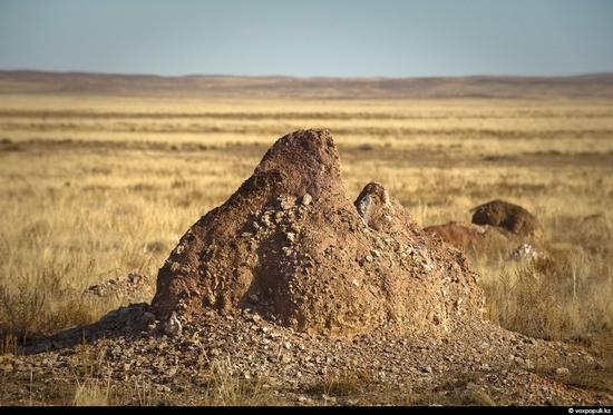 Semipalatinsk nuclear test site, Kazakhstan view 16