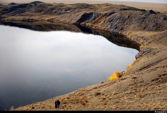Semipalatinsk nuclear test site, Kazakhstan view 2