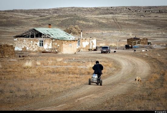 Semipalatinsk nuclear test site, Kazakhstan view 6