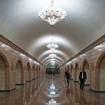 The subway was opened in Almaty city